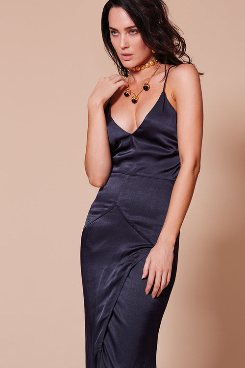 MONTE CARLO MAXI DRESS NAVY