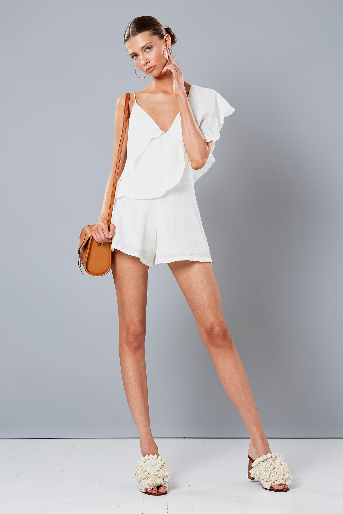 ALFRESCO PLAYSUIT WHITE