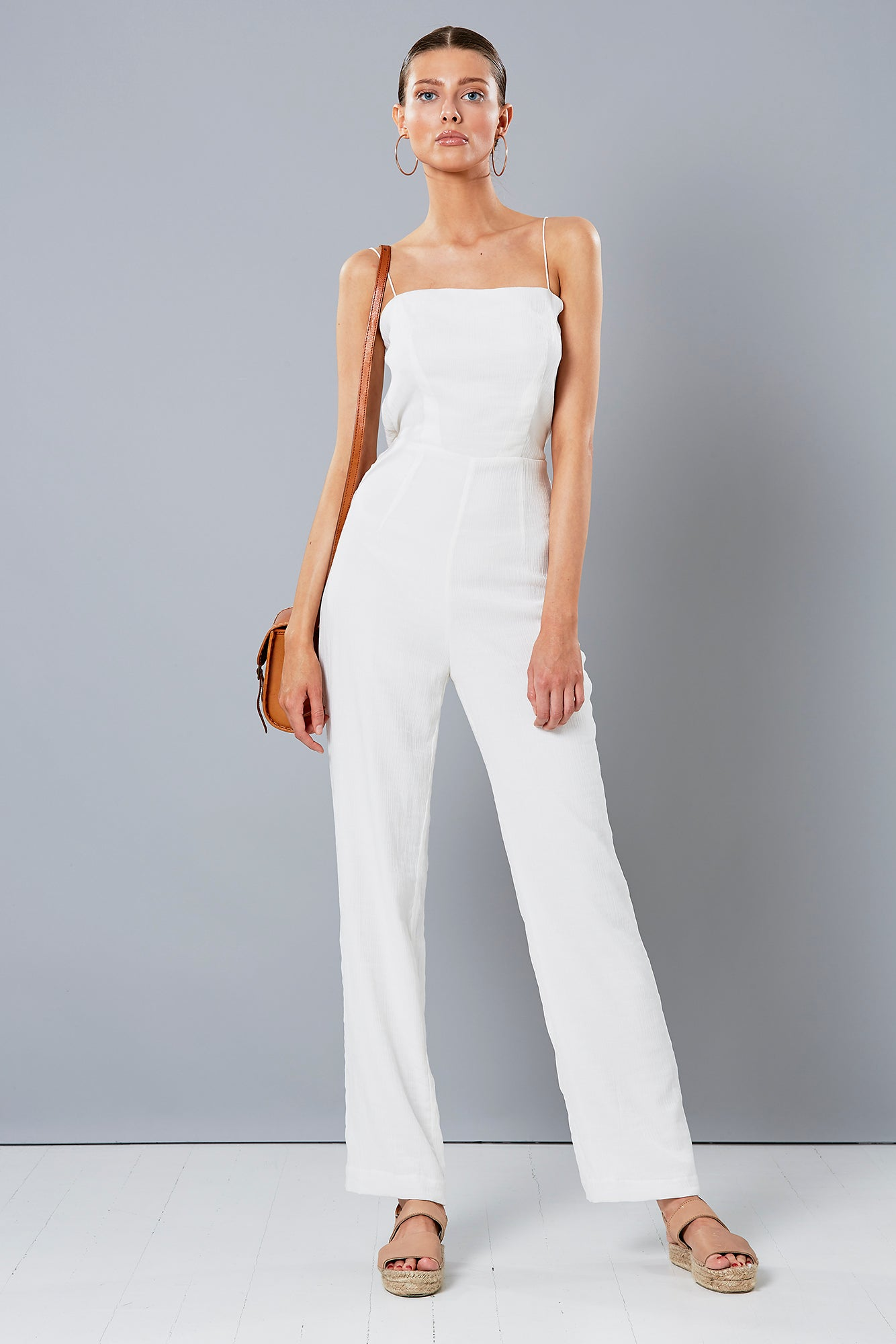 VAMP JUMPSUIT WHITE