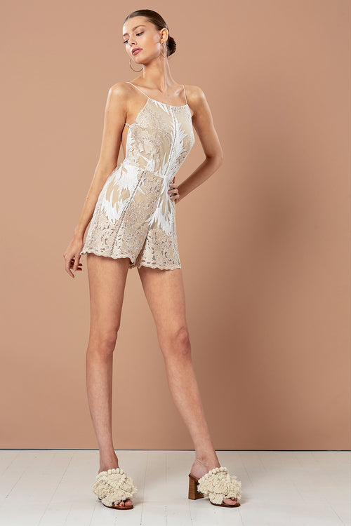 GOLD LEAF PLAYSUIT