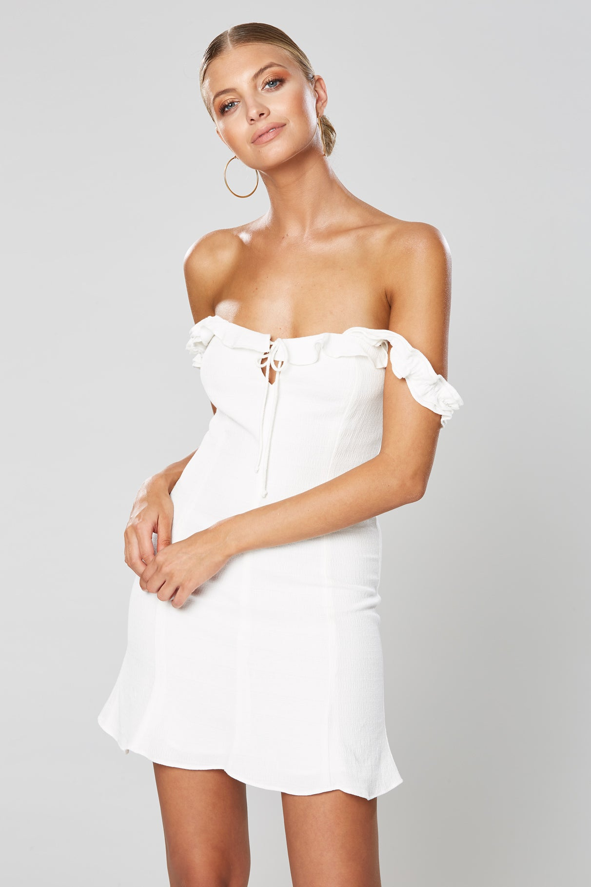 DAY DREAM MINI DRESS WHITE