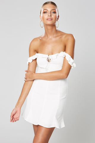 MING OFF THE SHOULDER DRESS