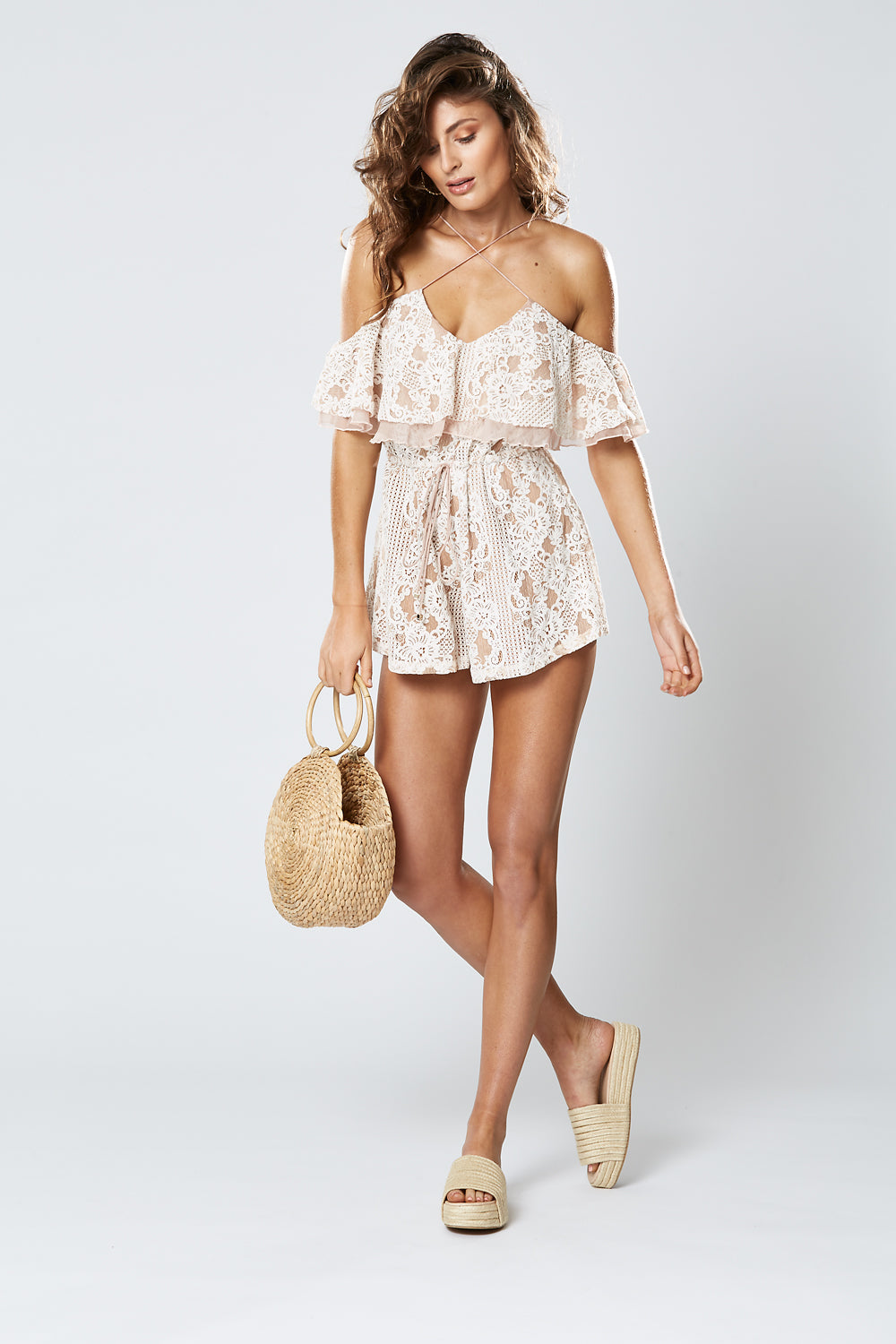 FILIGREE PLAYSUIT