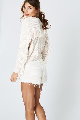BICHON KNIT DRESS WHITE