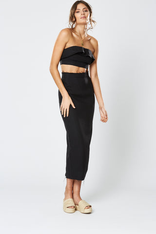 DHARMA WRAP MAXI DRESS