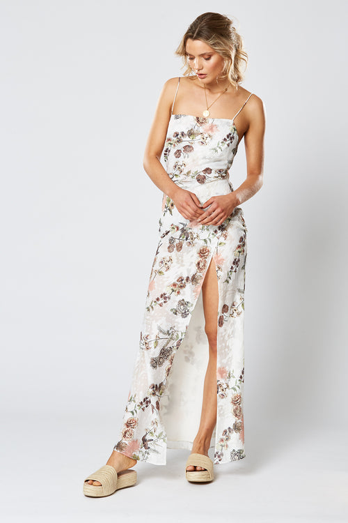 HUMMINGBIRD MAXI DRESS