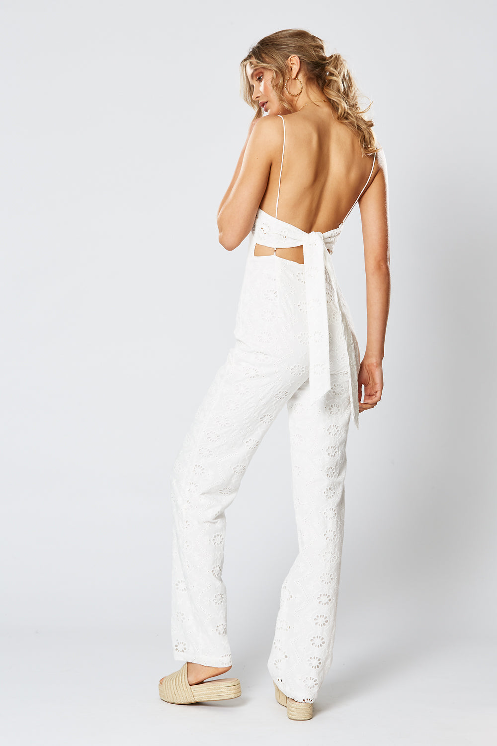 PADDINGTON JUMPSUIT WHITE