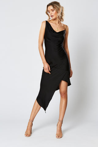 SHANGRI-LA ASYMMETRICAL DRESS