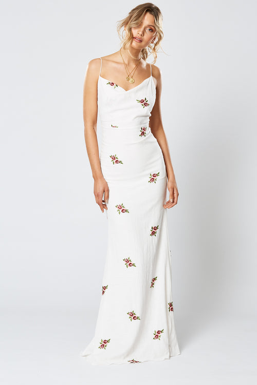ENGLISH ROSE MAXI DRESS