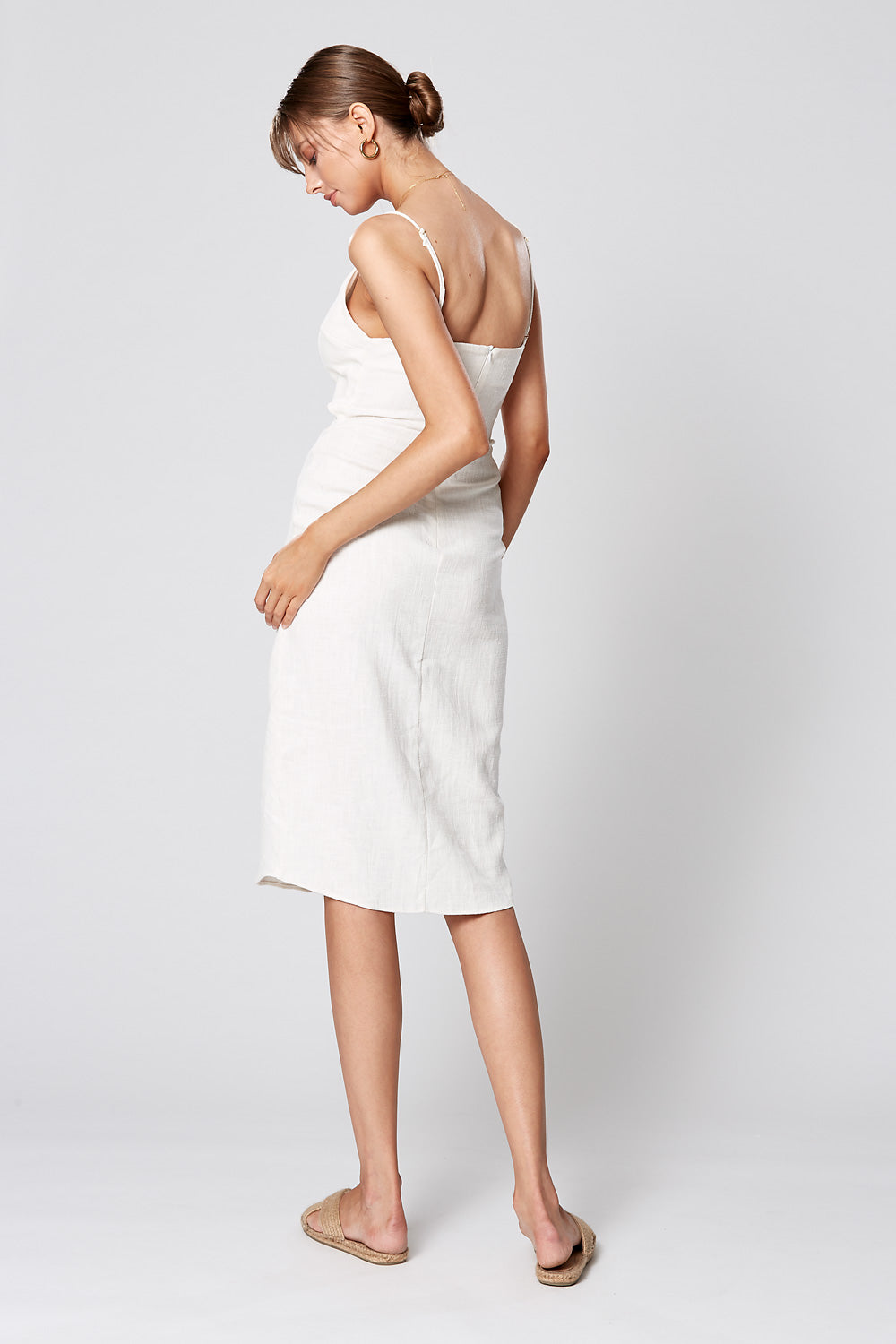 MATISSE MIDI DRESS WHITE