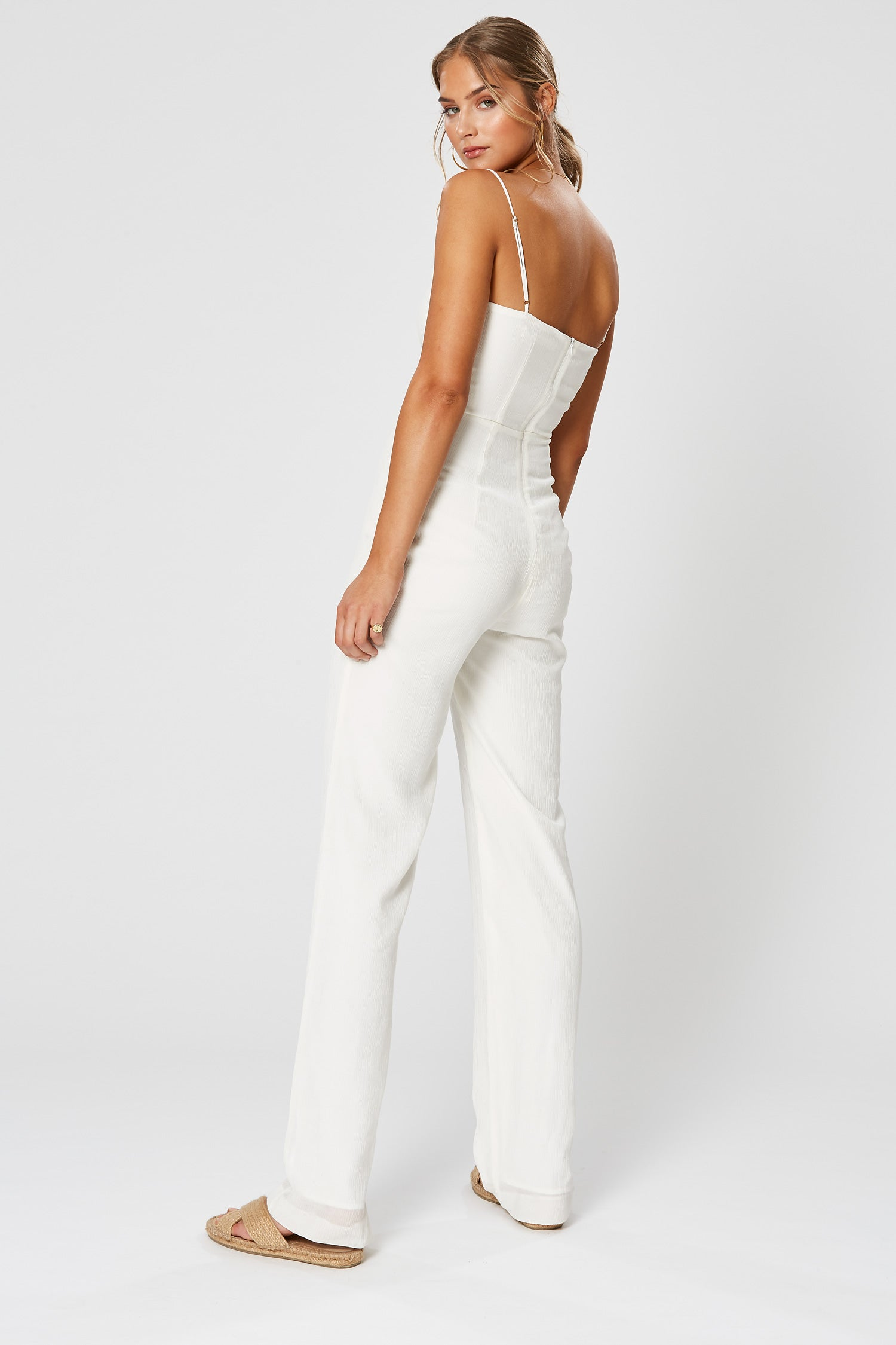 CLEO JUMPSUIT WHITE