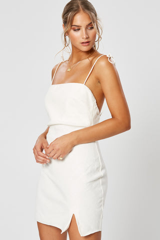 MADELEINE TIE FRONT DRESS