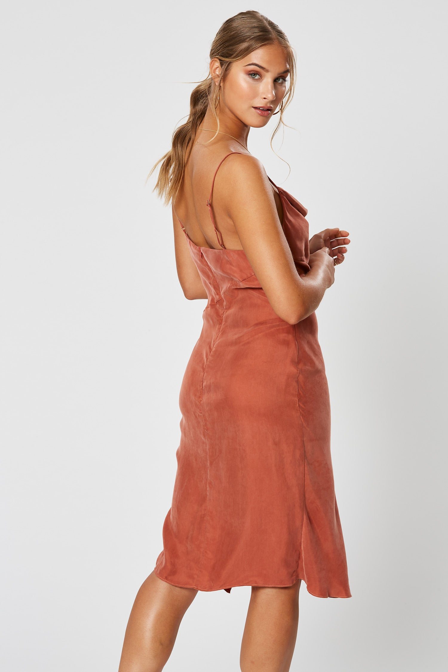SIMONE DRESS COPPER