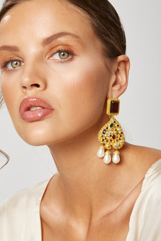 LEILA LARGE EARRINGS