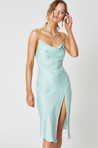 INDIO SHORT DRESS AQUA