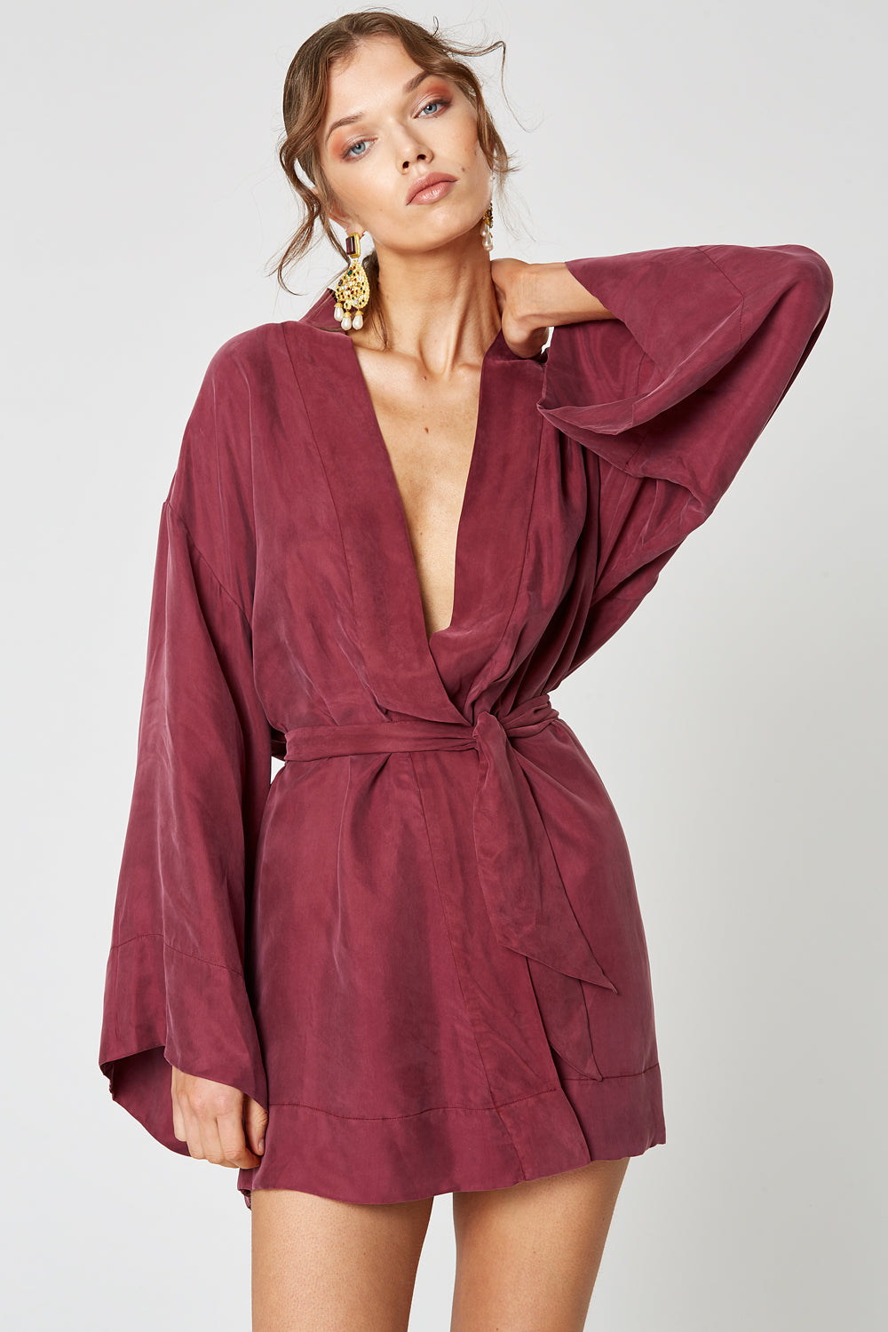 NEVADA WRAP DRESS