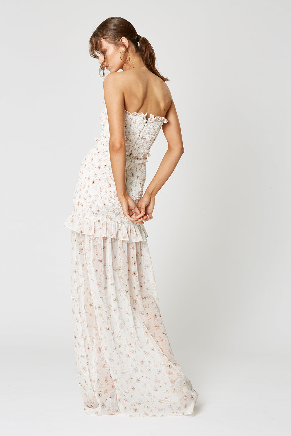 PAPERFLOWER MAXI DRESS
