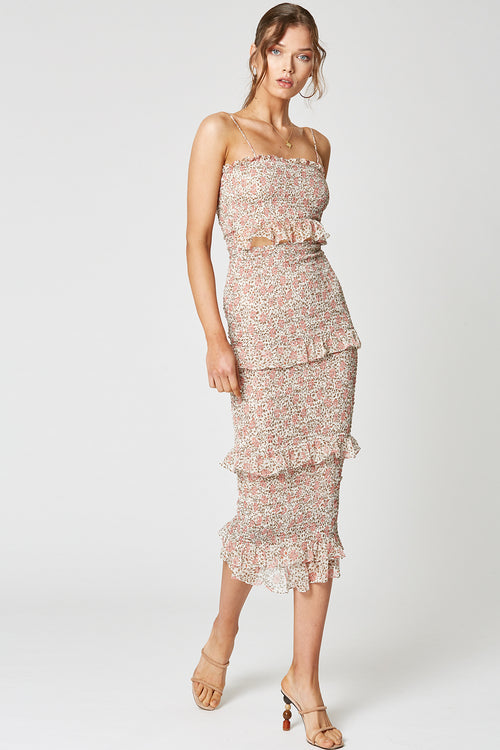 DESERT ROSE 3/4 DRESS