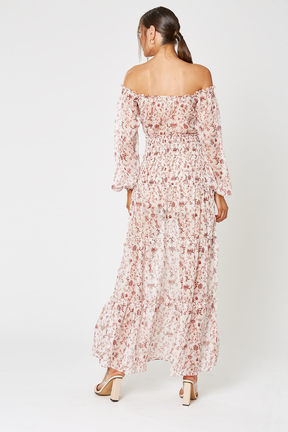 ETUDE OFF THE SHOULDER DRESS