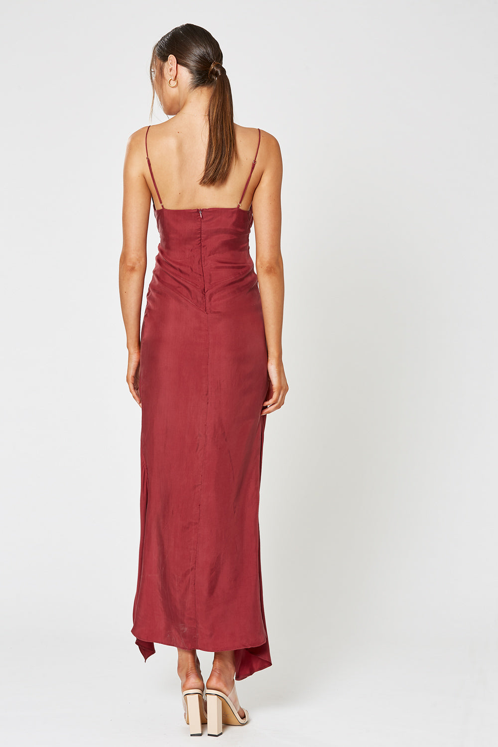 MEZZO MAXI DRESS WINE