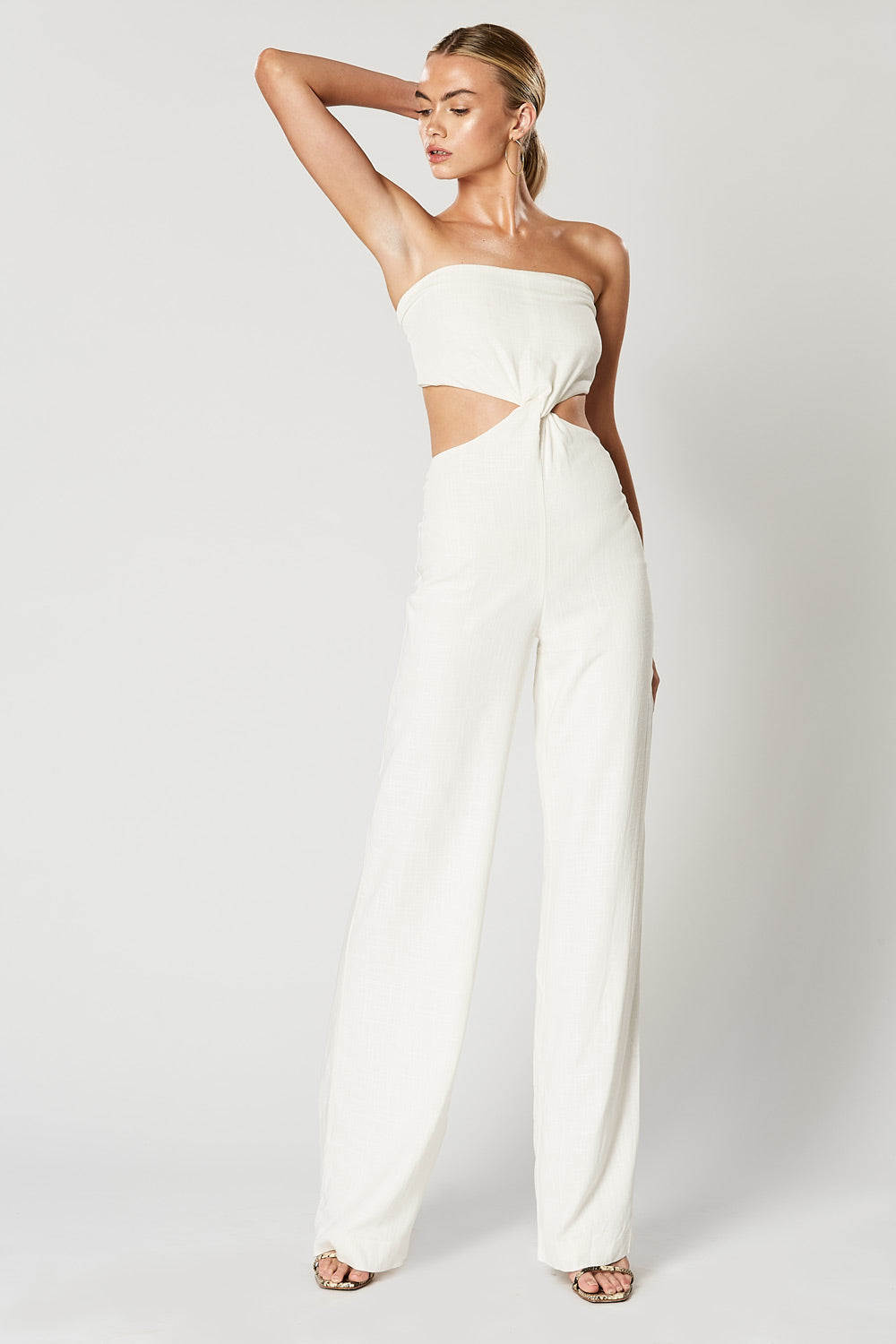 CADENCE JUMPSUIT WHITE