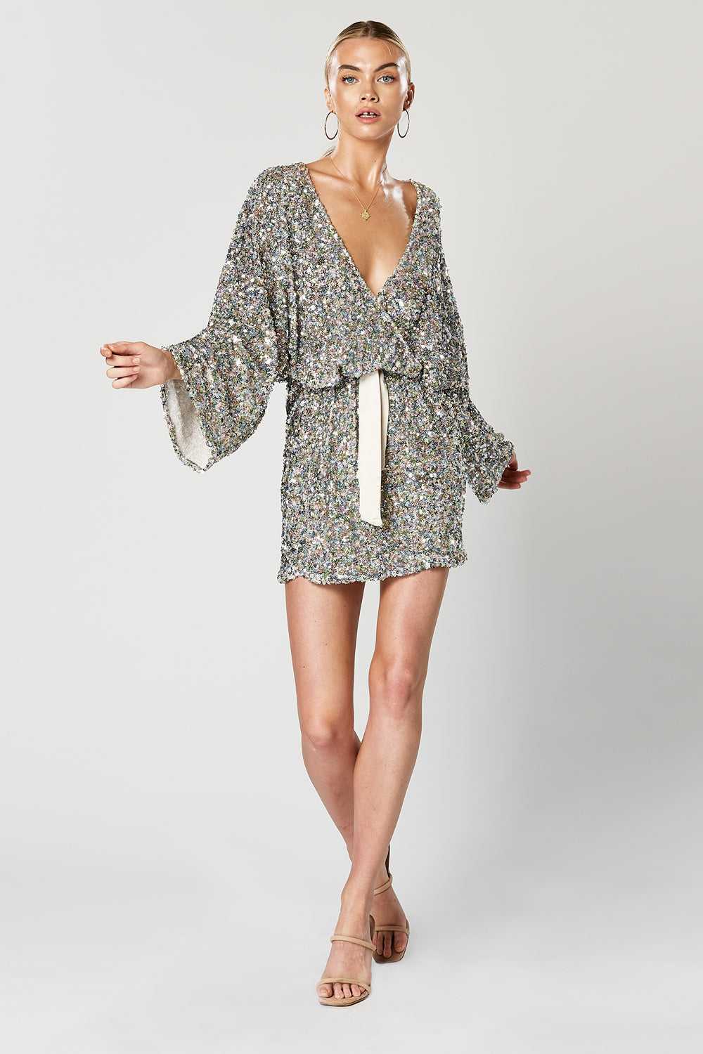 MINGLE LONG SLEEVE DRESS
