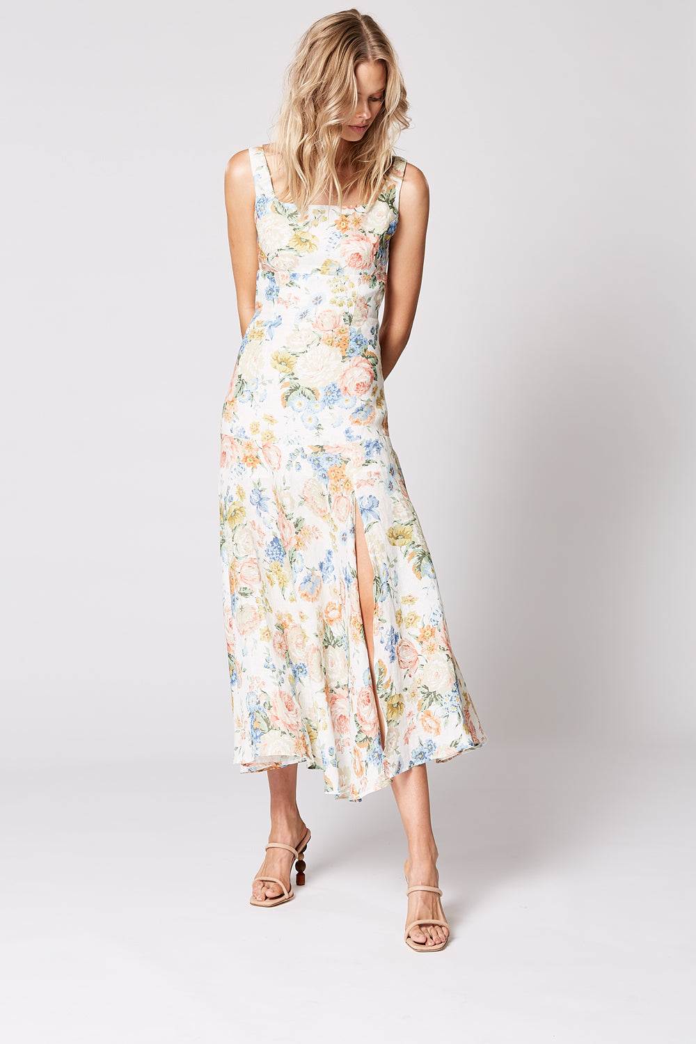FLAIR MIDI DRESS