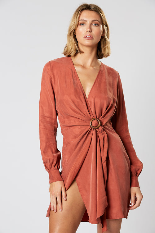 AXEL WRAP DRESS