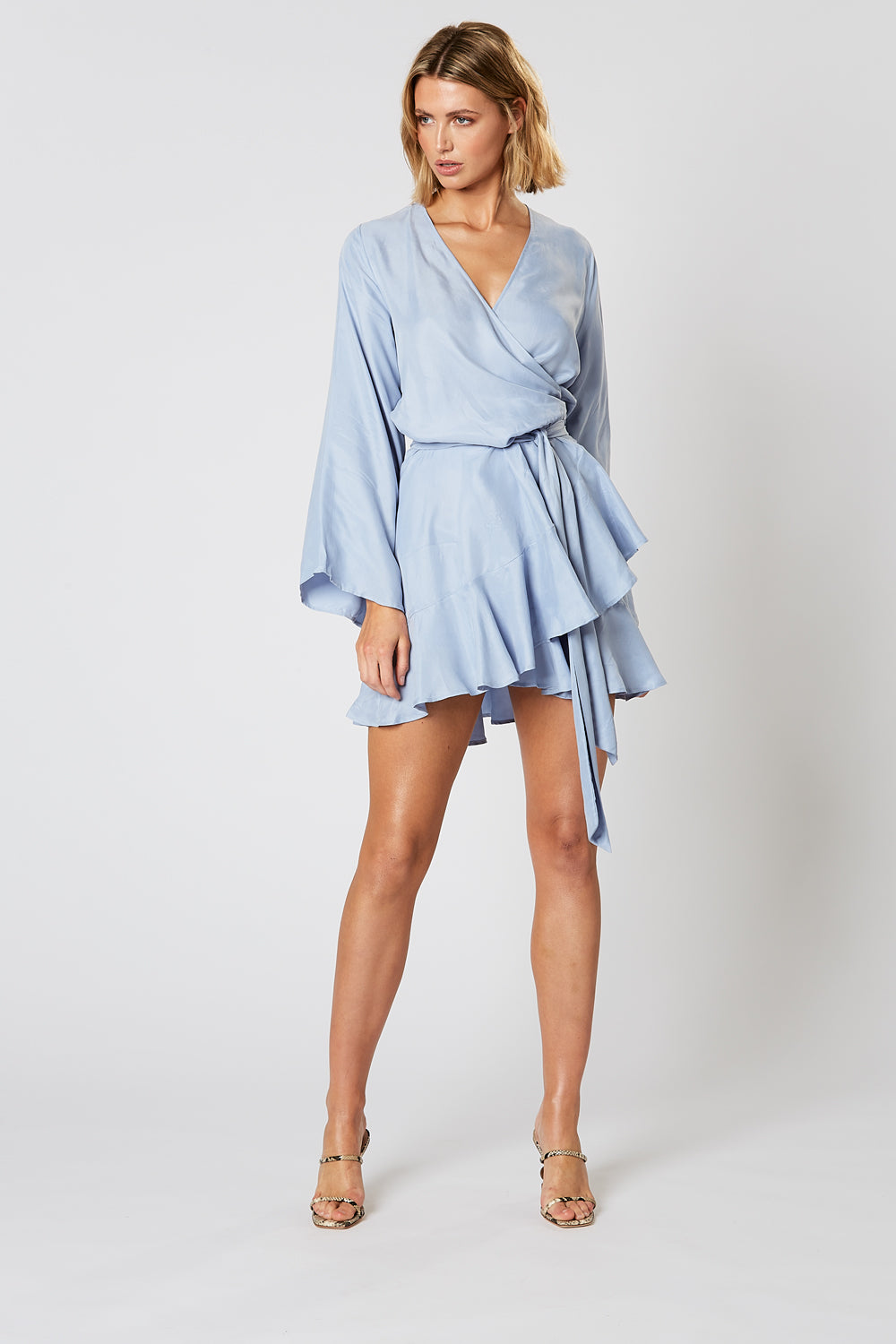 DREAMSCAPE WRAP DRESS