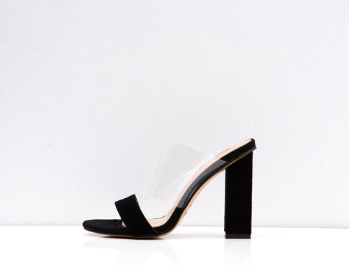 MIDTOWN HEEL BLACK