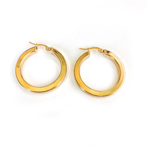 THICK ROUND HOOPS- SMALL