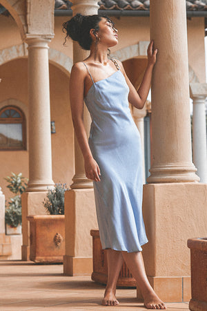 DREAMSCAPE ASYMMETRICAL DRESS