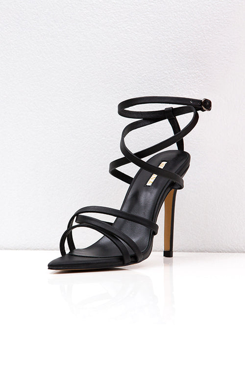 MANHATTAN HEEL BLACK