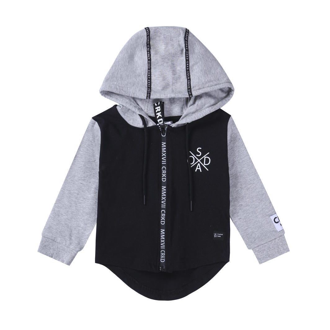 Fox Detailed Hoodie