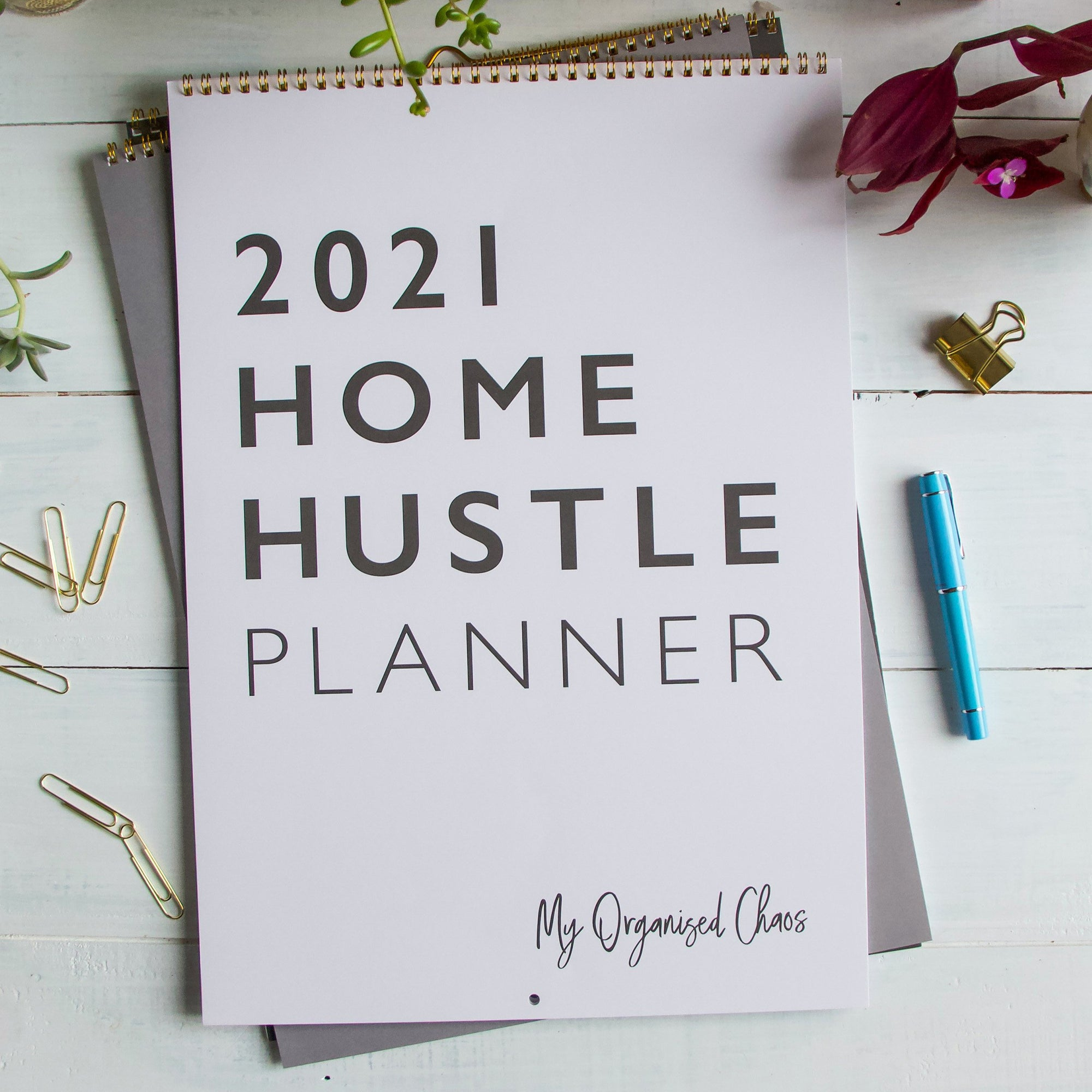 2021 Home Hustle Planner