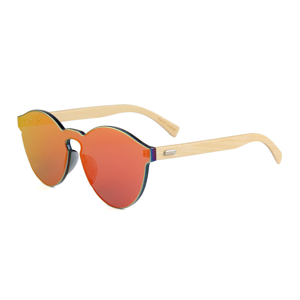 Tylah Sunglasses (Metallic Orange)