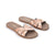 Salt Water Womens Classic Slides (Rose Gold)