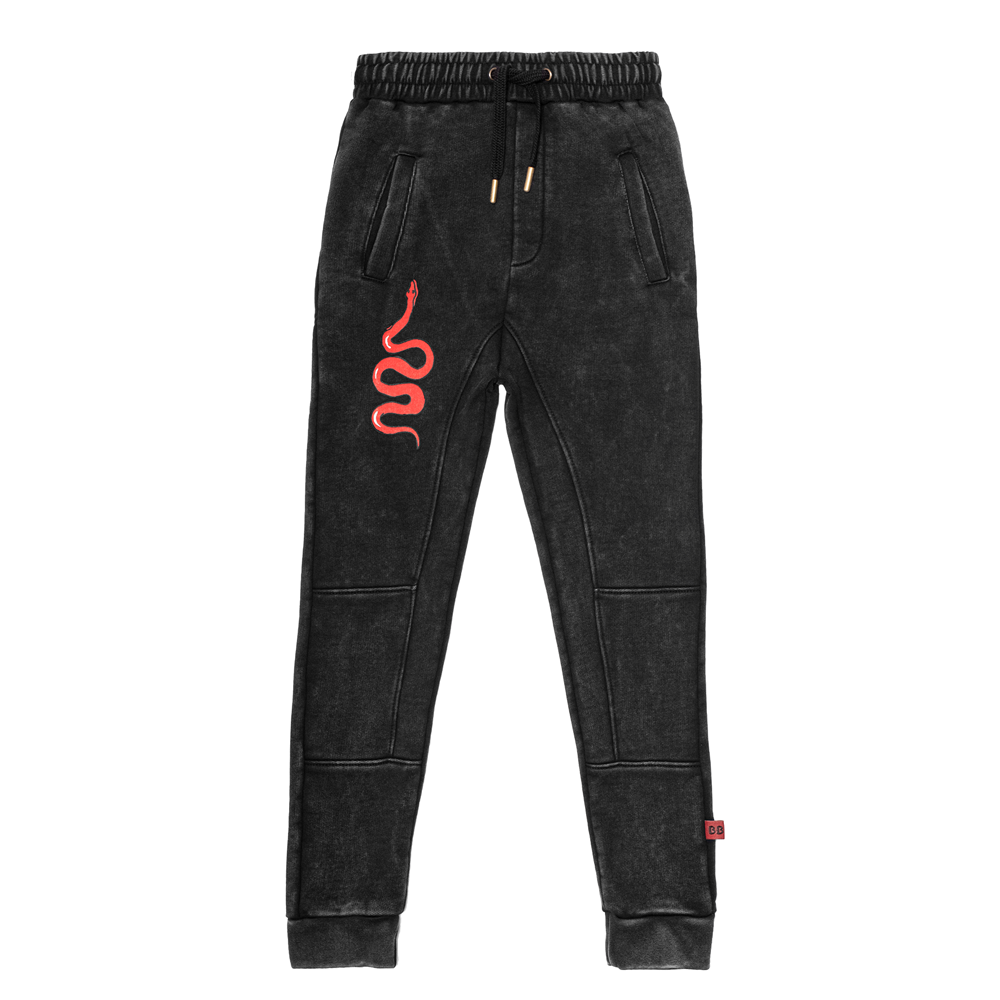 Red Viper Panel Trackies