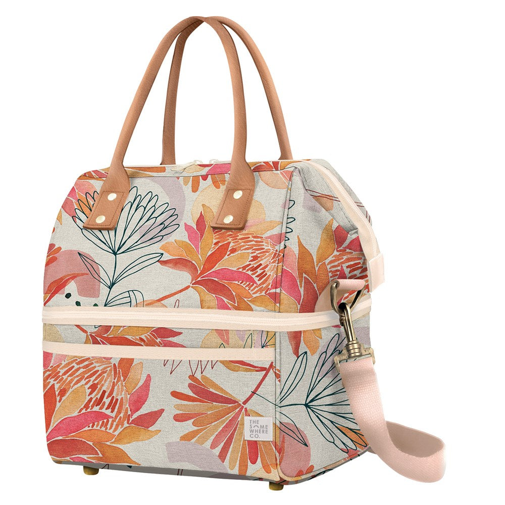 Brushed Protea Cooler Bag