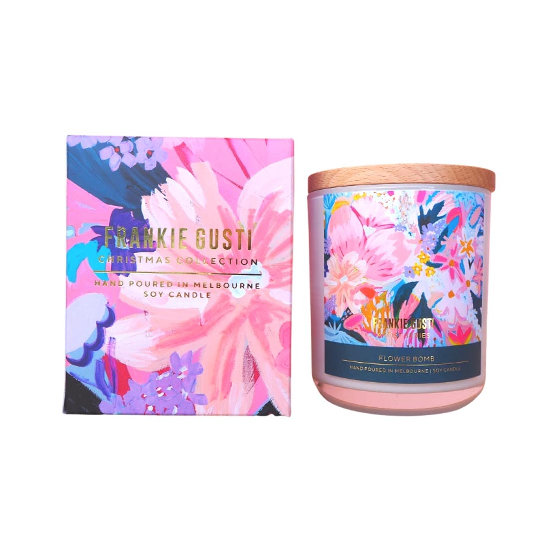 Morgan Jamieson Candle (Flower Bomb)