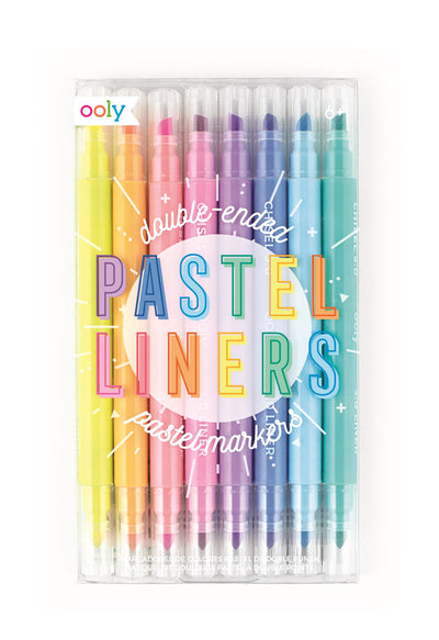 Pastel Dual Tip Markers