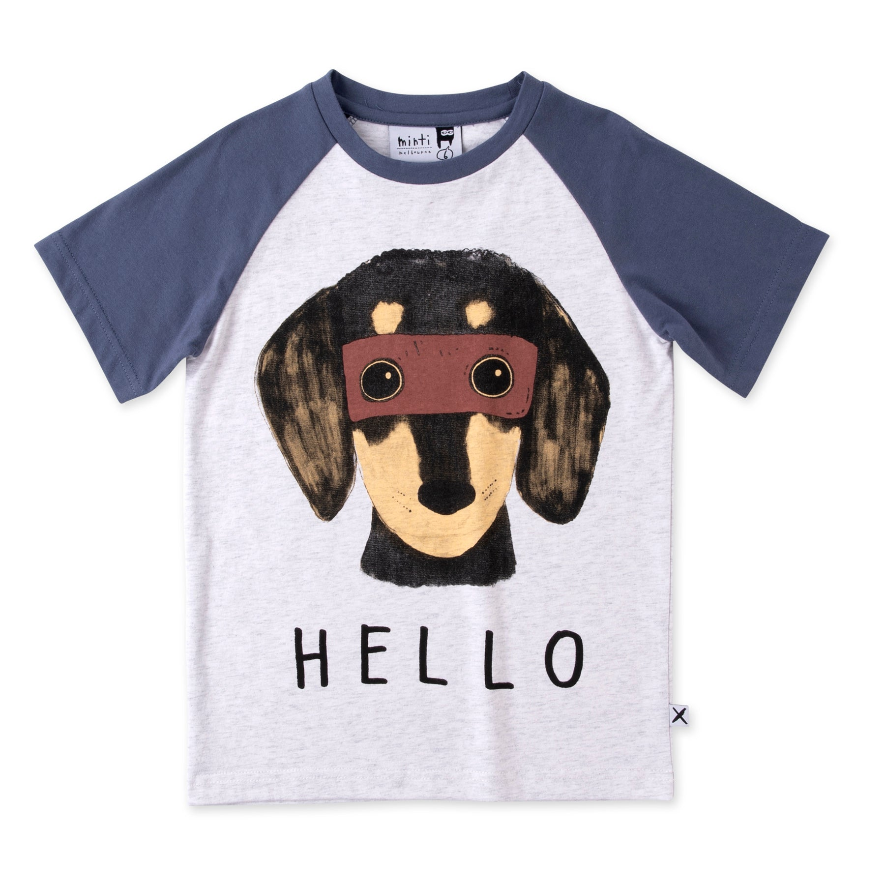 Super Dogs Raglan Tee
