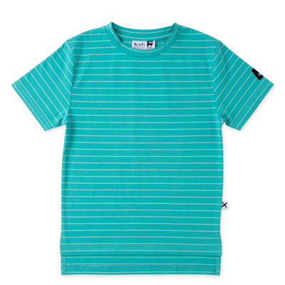 Split Striped Tee