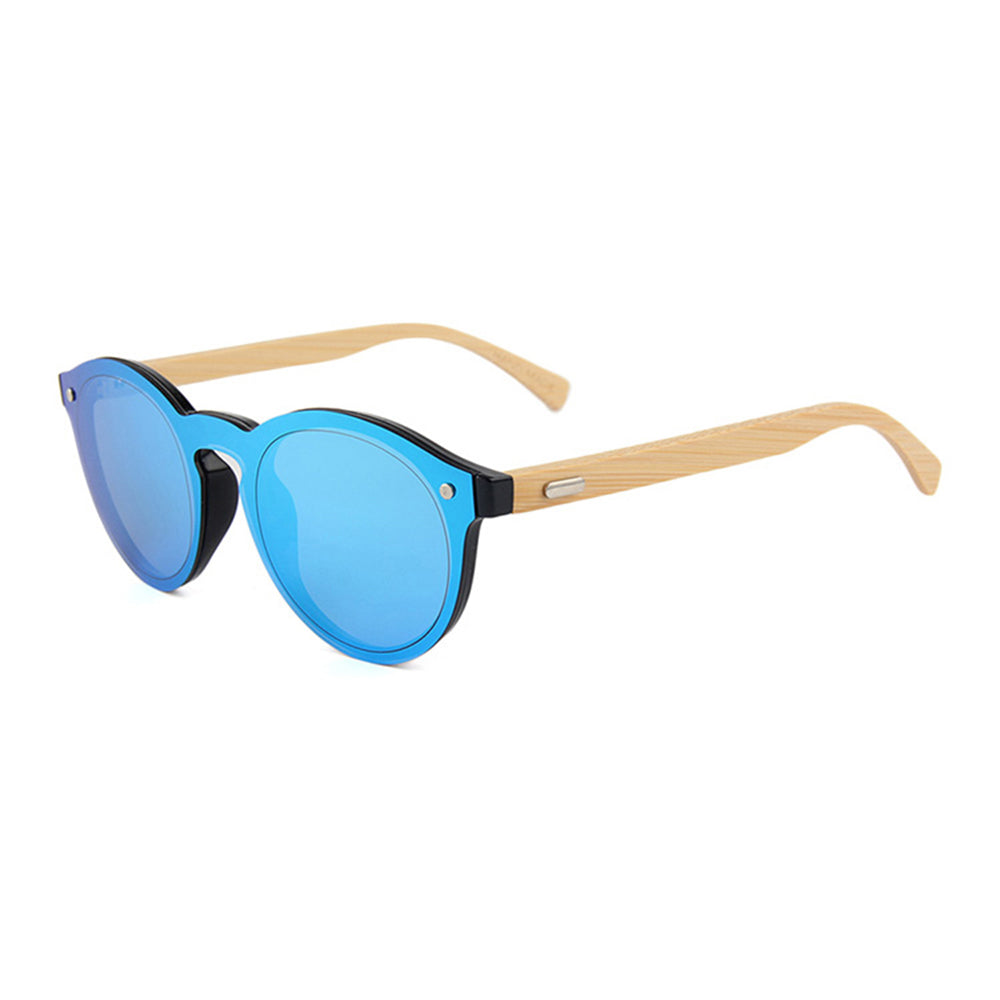 Archie Sunglasses (Metallic Blue)