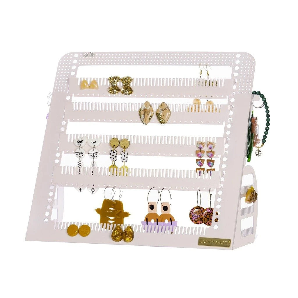 Adjustable Earring & Accessory Holder (Mid Blush)
