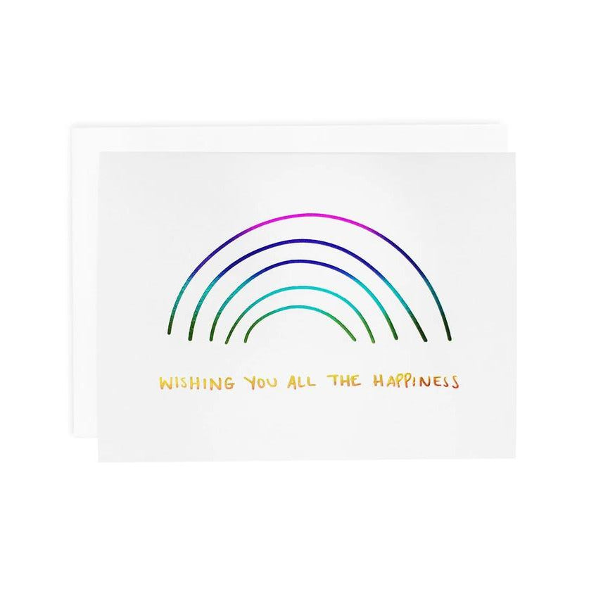 All the Happiness Greeting Card