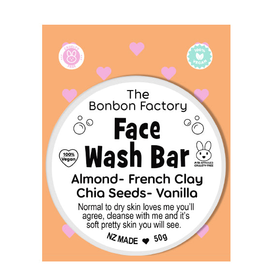 Almond and Clay Facial Bar