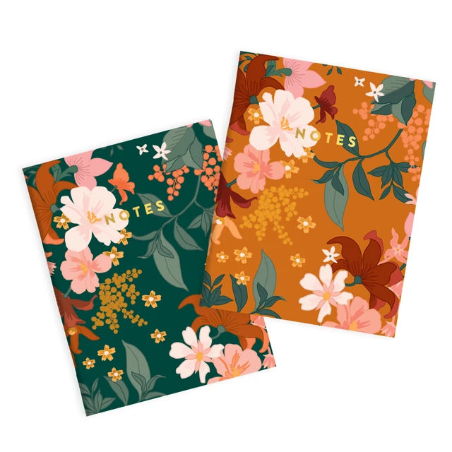 Bohemia Pocket Notebook (2 Pack)