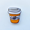 Brooch (Coffee)