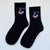 Face Socks (Black)